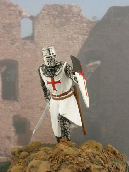 Knight templar - Artig Tin Soldiers, historical miniatures