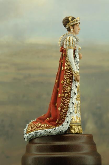 Joséphine de Beauharnais - coronation of Napoleon - Artig